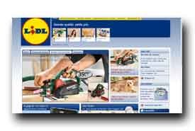 screenshot de www.lidl.be
