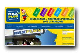 screenshot de www.maxplus.fr