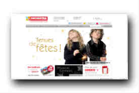screenshot de www.orchestra.fr