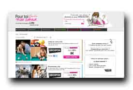 screenshot de www.pourtoimonamour.com