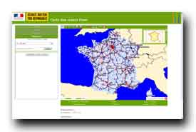 screenshot de radars.securite-routiere.gouv.fr/metropole