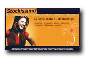 screenshot de www.stockissimo.fr