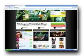 screenshot de www.airtist.com/
