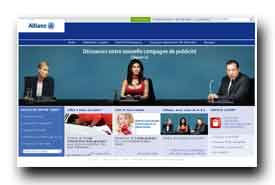 screenshot de www.allianz.fr