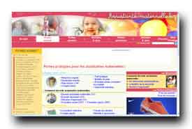 screenshot de www.assistante-maternelle.biz