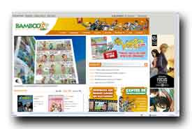 screenshot de www.bamboo.fr