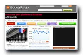 screenshot de www.boursereflex.com