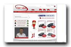 screenshot de www.car-oline.fr