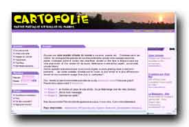 screenshot de www.cartofolie.com