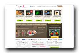 screenshot de www.flauntr.com