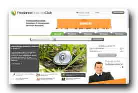screenshot de www.FreelanceBusinessClub.com