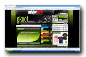 screenshot de www.gkoot-electronic.com