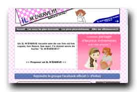 screenshot de www.ilmenerve.fr