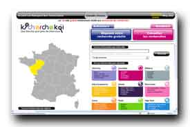 screenshot de www.kicherchekoi.com