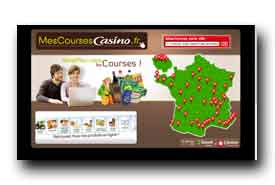 screenshot de www.mescoursescasino.fr