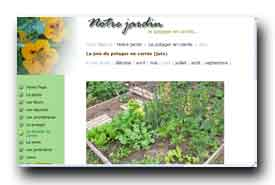 screenshot de www.monpotager.net/index.htm