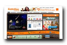 screenshot de www.radiomee.com