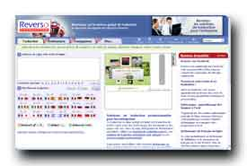 screenshot de www.reverso.net