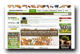 screenshot de www.semencesdupuy.com