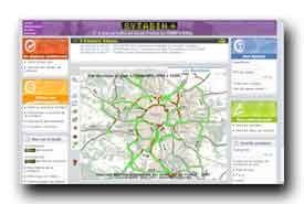 screenshot de www.sytadin.fr