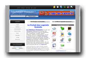 screenshot de www.telecharger-freeware.com