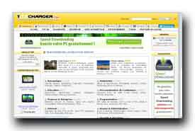 screenshot de www.toocharger.com
