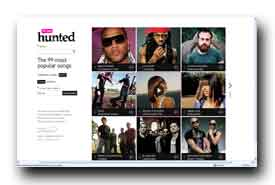 screenshot de www.wearehunted.com