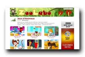 screenshot de www.zoolabo.com